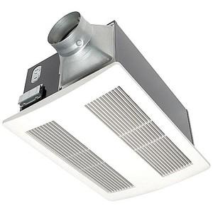 Panasonic FV-11VH2 Heater/Ventilation Fan, 1400W, 110 CFM