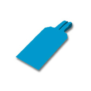 Brady 30682 BLUE LOCK ON TAGS - BLANK