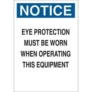 23057 MACHINE & OPERATIONAL SIGN