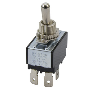 NSI Tork 78130TQ Toggle Switch, DPST, Maintained