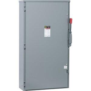 Square D CH365R Safety Switch, Fusible, 3P, 400A, 600VAC, NEMA 3R, Type J Fuse