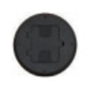 Hubbell-Wiring Kellems RF406BK FLOOR BOX, DOOR FOR RF400, NM, BLACK