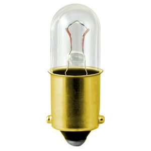 Candela 1835-I Miniature Incandescent Lamp, T3.25, 2.75W, 55V, BA9s