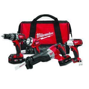 Milwaukee 2696-24 M18 Cordless Tool Kit