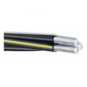 Multiple VOLUTAXLP1000RL Voluta, Triplex Service Drop, 6-6-6 AWG, Aluminum, 1000', XLP Insulated