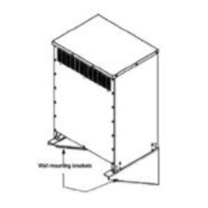 Square D 7400WMB18K20K Transformer, Wall Mounting Bracket, Enclosure Size 18/20, Pair