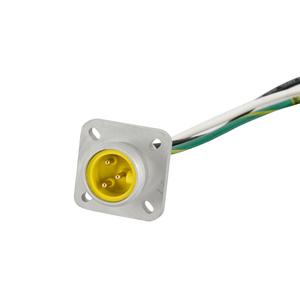 Woodhead 1R3G06A20A120 MC 3P MR 12IN. 16/1  PVC FLNGD