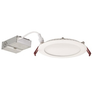 "Lithonia Lighting WF6-LED-30K40K50K-90CRI-MW-M6 LED Switchable Downlight, 6"", Thin, 30K40K50K, 14W, 120V"