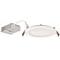 Lithonia Lighting WF6-LED-30K40K50K-90CRI-MW-M6 LED Switchable Downlight, 6