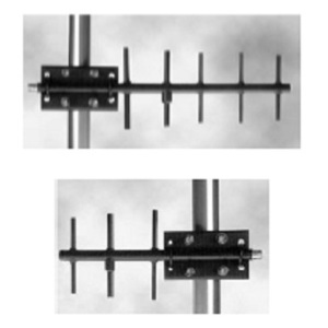 Prosoft Technology A908NJ-DY Antenna, Yagi, 8 dBi Gain, 890 to 960MHz, Mast Mounting Bracket