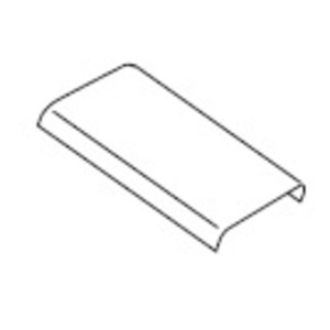 Wiremold G3000C195 STL COVER 19.5 IN. 3000 GRAY