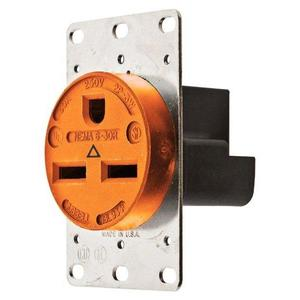 Hubbell-Wiring Kellems IG9330 SGL RCPT, IG, 30A 250, 6-30R, OR