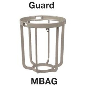 Hubbell-Killark MBAG Globe Guard, Epoxy/Polyester Painted Aluminum