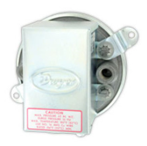 """Dwyer 1910-20 Ring Terminal, large wire, expanded vinyl insulation, 8 AWG, 1/2"""" stud size"""