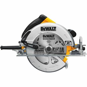"DEWALT DWE575SB 7-1/4"" NEXT GEN CIRC SAW w/ BRAKE"