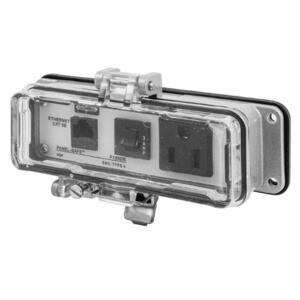 Hubbell-Wiring Kellems P155EB IE, NEMA 12/4,CAT5E,15A