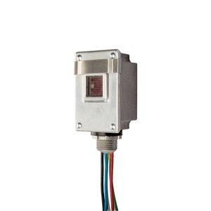 "NSI Tork 2119A Photocontrol, 1/2"", Stem Type, Aluminum, 120/240V"