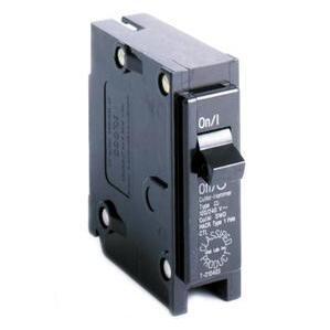 Eaton CL115 Breaker, 15A, 1P, 120/240V, 10 kAIC, Classified