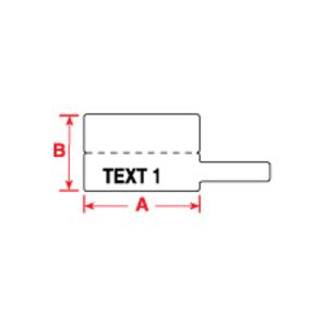 Brady PTLFT-01-8425 1.181 IN X 0.788