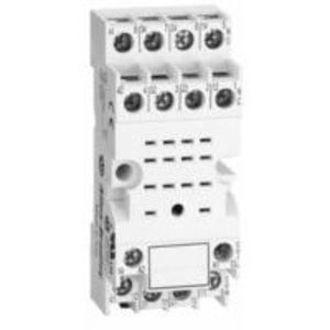 Allen-Bradley 700-HN103 Socket, 14-Blade, Screw Terminal, Panel or DIN Rail Mount