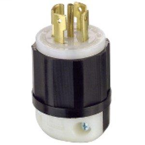 Leviton 2811 Locking Plug, 30A, 3PH Y 120/208V, 4P5W