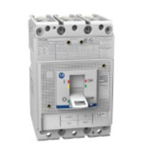 Allen-Bradley 140G-H3F3-D12 Circuit Breaker, Molded Case, Frame H, 125A, 3P, 600VAC