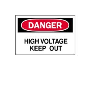 Brady 84083 Electrical Hazard Sign