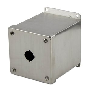 nVent Hoffman E1PBGXSS 22mm Enclosure, 1 Element, Stainless Steel