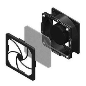 Chatsworth 40975-001 Low-Decibel Dual Fan and Filter Kit for CUBE-iT Cabinet