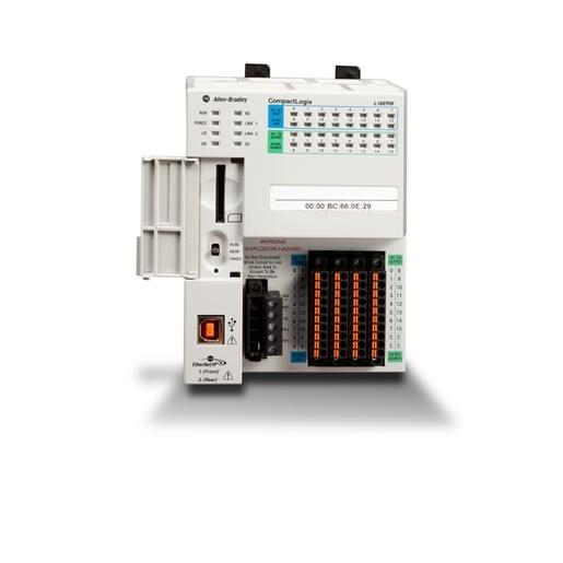 Allen Bradley 1769 L18er Bb1b Allen Bradley 1769 L18er Bb1b Controller 512kb Memory 1gb Memory Card 16 Inputs 16 Outputs Rexel Usa