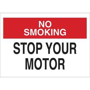 25132 NO SMOKING SIGN