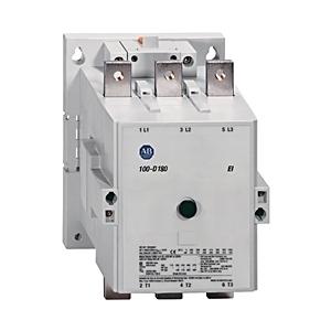 Allen-Bradley 100-D140EA11 Contactor, IEC, 140A, 3P, 208-277VAC, Electronic Coil, 1NO/NC
