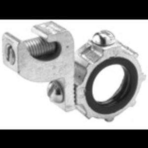 "Bridgeport Fittings 382 Grounding Bushing, Threaded, Insulated, 3/4"", Malleable Iron"