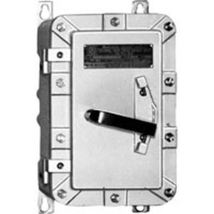 Appleton EDS3036 Safety Switch, HD, 30A, 3PH, 600VAC, Non-Fusible, Class I Div. 2