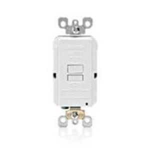 Leviton GFRBF-W Blank GFCI, 20 Amp, 120V, White