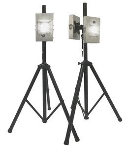 PURO Lighting S-M1-2-T-15-P-110 UV Light Engine, 2-Single, Mobile, Tripod Stand, 15' Plug