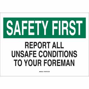 25323 SAFETY SLOGANS SIGN