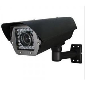Speco Technologies CLPR67B4B Camera, Bullet, Outdoor, License Plate Capture, Long Range, IR