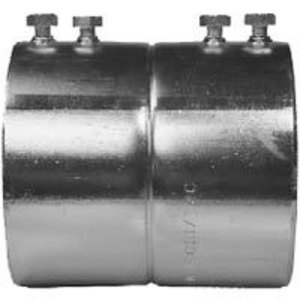 "Appleton 5250S EMT Set Screw Coupling, 2-1/2"", Steel"