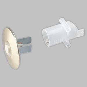 Nutone PB41APB41LA Wiring Sleeve For Push Button Door Chime, Non-Metallic