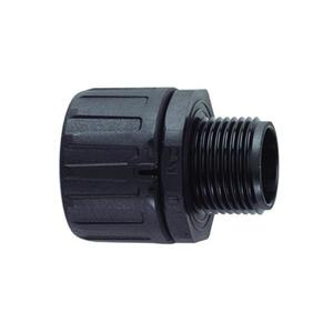 "HellermannTyton 166-90107 NM IP66 Fitting, 1.25"", Black"