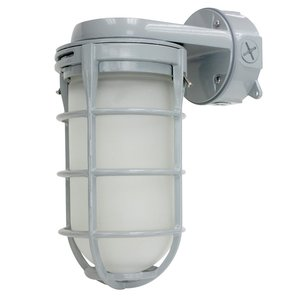 Cree Lighting C-VT-A-LGWL-12L-40K-GR LED Vapor Tite, Large, 120V, Wall Mount, 1200L, 4000K, Gray