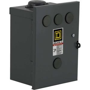 Square D 8903SMH2V02 Contactor, Lighting, 30A, 600VAC, 120VAC Coil, 3P, NEMA 3R