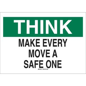 25332 SAFETY SLOGANS SIGN
