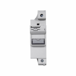 Eaton/Bussmann Series CH221B Fuse Holder, Modular, for 22x58mm Fuses, 1-Pole, No Indication