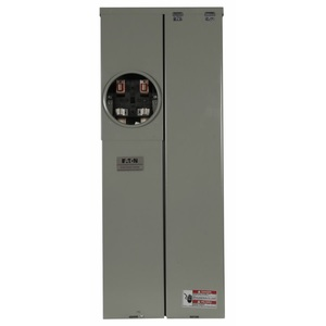 Eaton MBE2040PV200BTS Meter Center, 200A, 20/40, OH/UG, BR Type, 22 kAIC, Solar Ready