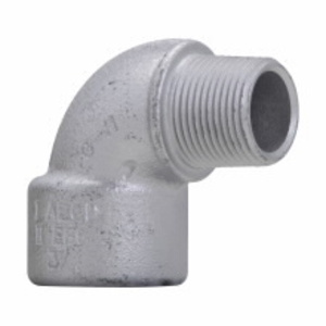 """Cooper Crouse-Hinds EL196SA Pulling Elbow, Threaded, 1/2"""", Male/Female, Explosionproof, Aluminum"""