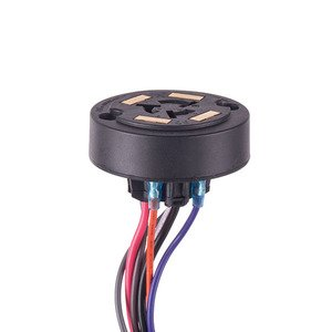 NSI Tork 2227 7-Pin Photo Control Receptacle with Gasket