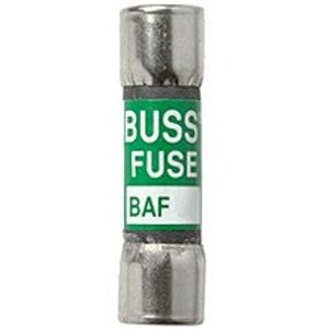 "Eaton/Bussmann Series BAF-3 Fuse, 3 Amp Fast-Acting Midget, Fibre, 13/32"" x 1-1/2"", 250V"