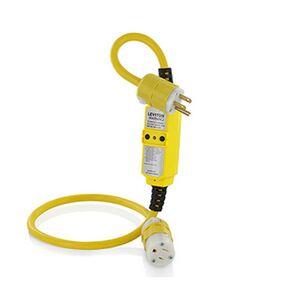 Leviton GFM15-3C 15 Amp, 120 Volt, NEMA 5-15, 3ft Cord Set